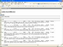 Listino carrelli elevatori in formato Microsoft Excel