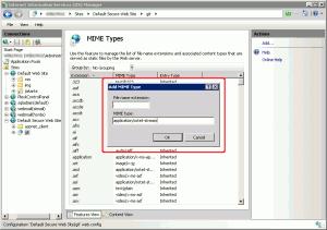 Specifa del MIME type per i file privi di estensione
