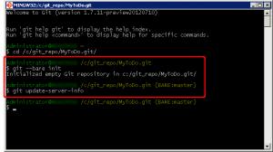 Inizializzazione repository Git